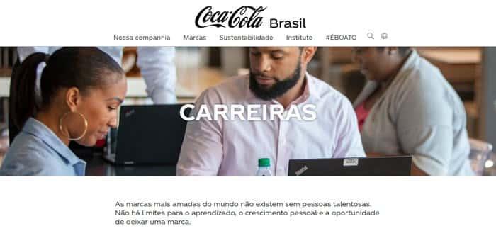 Passo a passo para trabalhar na Coca-Cola